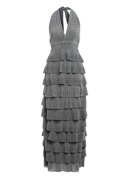 FOREVER UNIQUE Kleid VESPA mit Volants, Farbe: SILBER (Bild 1)