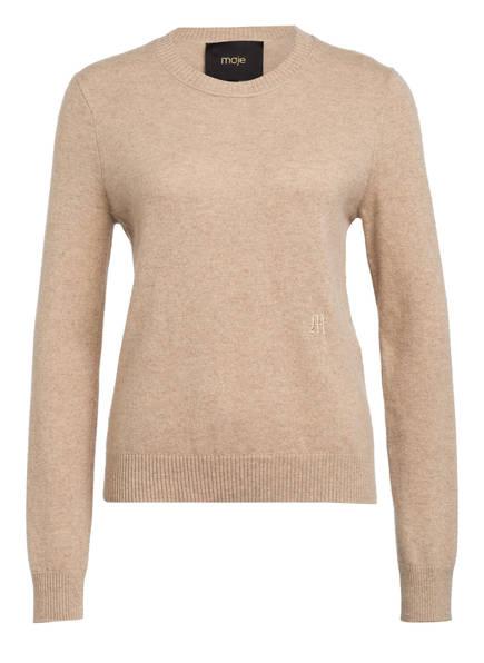 maje Cashmere-Pullover MOANA, Farbe: BEIGE (Bild 1)