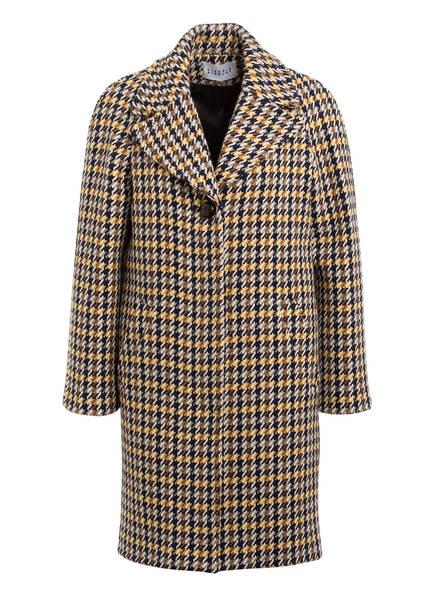 CLAUDIE PIERLOT Mantel GORGIOH, Farbe: DUNKELBLAU/ BEIGE/ DUNKELGELB (Bild 1)