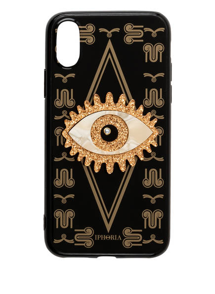 IPHORIA Smartphone-Hülle MAGIC EYE, Farbe: SCHWARZ/ GOLD (Bild 1)