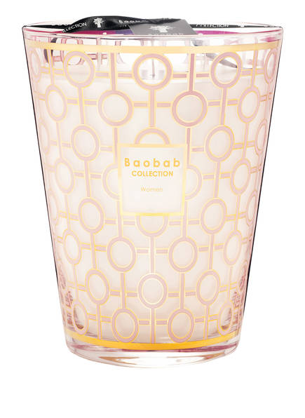 Baobab COLLECTION Duftkerze WOMEN, Farbe: ROSA/ GOLD (Bild 1)