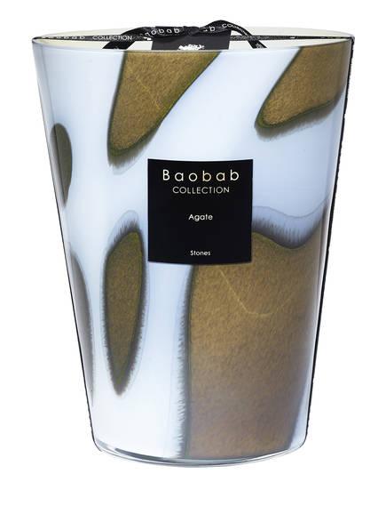 Baobab COLLECTION Duftkerze AGATE , Farbe: BRAUN/ GRÜN/ HELLBLAU (Bild 1)