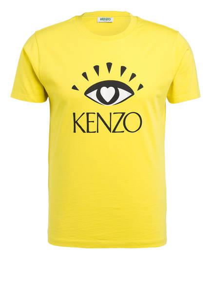 KENZO T-Shirt VALENTINES, Farbe: GELB (Bild 1)