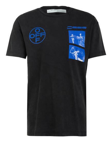 OFF-WHITE T-Shirt , Farbe: SCHWARZ/ BLAU (Bild 1)