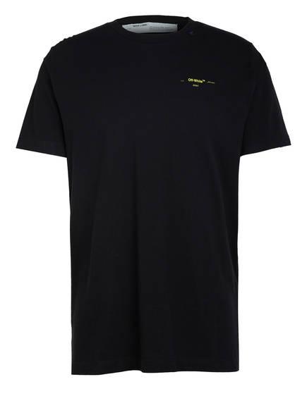 OFF-WHITE T-Shirt , Farbe: SCHWARZ/ GELB (Bild 1)