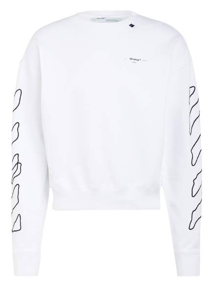 OFF-WHITE Sweatshirt, Farbe: WEISS (Bild 1)