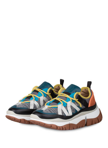 Chloé Sneaker BLAKE, Farbe: GREEN GREY (Bild 1)
