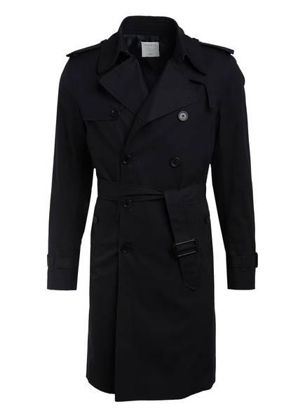 sandro Trenchcoat, Farbe: DUNKELBLAU (Bild 1)