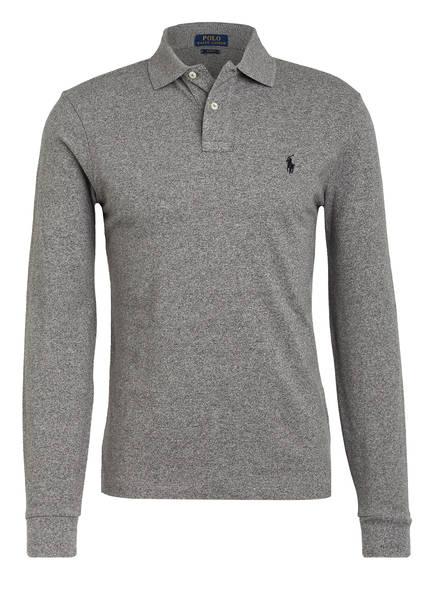 POLO RALPH LAUREN Piqué-Poloshirt Slim Fit, Farbe: GRAU (Bild 1)