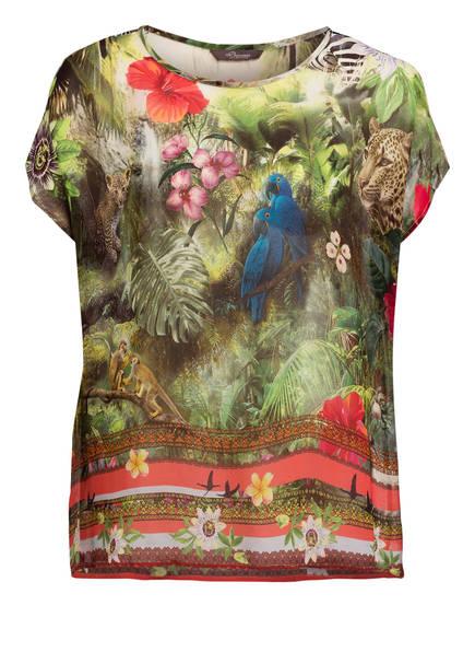 Princess GOES HOLLYWOOD Blusenshirt, Farbe: GRÜN/ ROT (Bild 1)