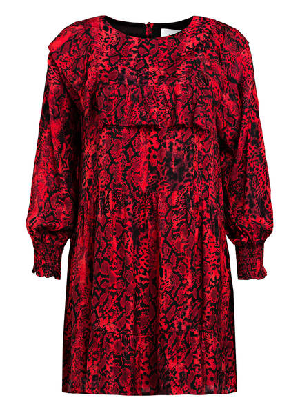 ba&sh Kleid SYM , Farbe: ROT/ SCHWARZ (Bild 1)