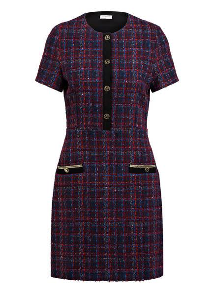 sandro Tweed-Kleid, Farbe: DUNKELBLAU/ BLAU/ ROT (Bild 1)
