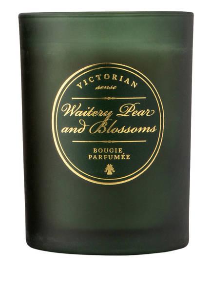 VICTORIAN Duftkerze WAITERY PEAR & BLOSSOMS, Farbe: GRÜN (Bild 1)