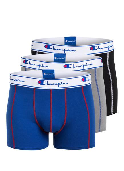 Champion 3er-Pack Boxershorts blau