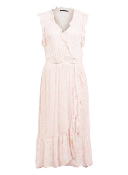 MARC AUREL Kleid in Wickeloptik, Farbe: CREME/ ROSÉ (Bild 1)