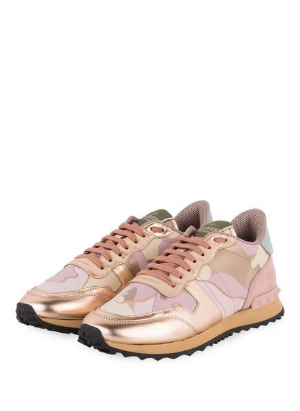 VALENTINO GARAVANI Sneaker CAMOUFLAGE, Farbe: ROSA/ BEIGE (Bild 1)