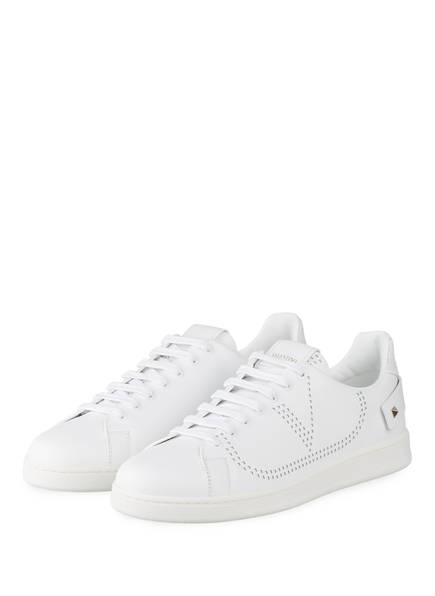 VALENTINO GARAVANI Sneaker BACKNET, Farbe: WEISS (Bild 1)