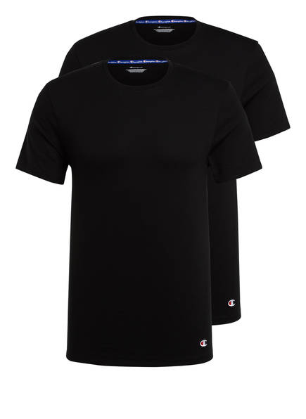 Champion 2er-Pack T-Shirts, Farbe: SCHWARZ (Bild 1)