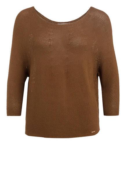 CINQUE Pullover CIBELLE mit 3/4-Arm , Farbe: BRAUN (Bild 1)