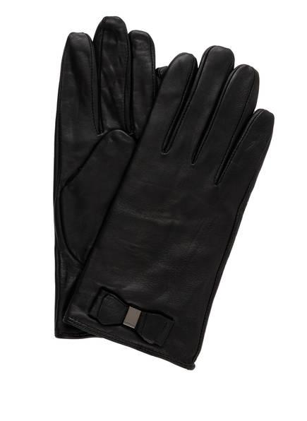 TED BAKER Lederhandschuhe BBLAKE mit Touchscreen-Funktion, Farbe: SCHWARZ (Bild 1)