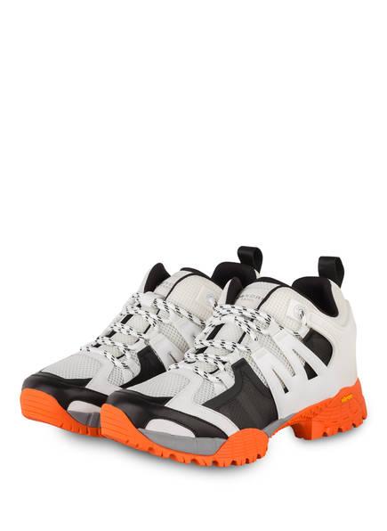 sandro Sneaker, Farbe: WEISS/ SCHWARZ/ ORANGE (Bild 1)