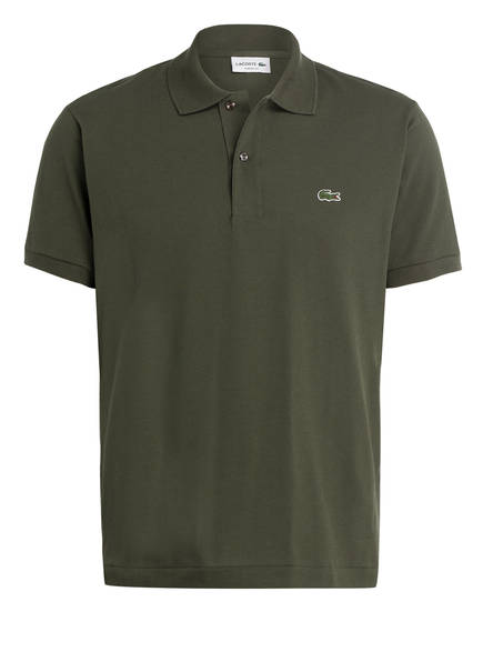 LACOSTE Piqué-Poloshirt Classic Fit , Farbe: OLIV (Bild 1)