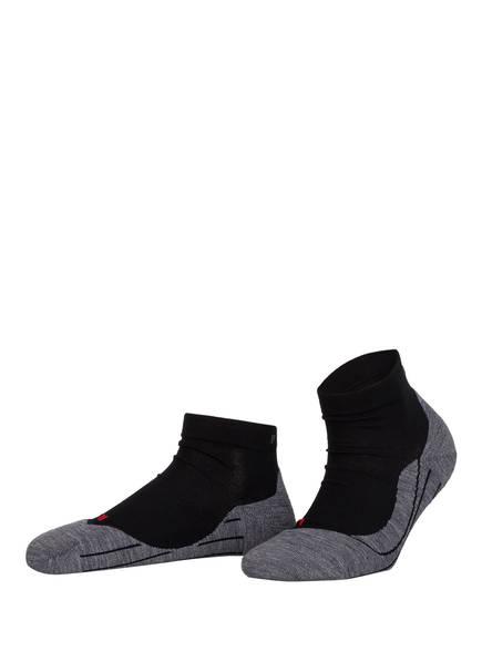 FALKE Running-Socken RU4 SHORT, Farbe: 3010 BLACK-MIX (Bild 1)