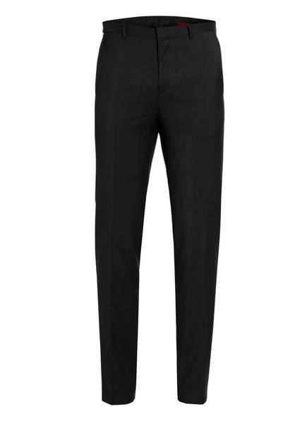 HUGO Kombi-Hose HARTLEYS Extra Slim Fit, Farbe: 001 SCHWARZ (Bild 1)