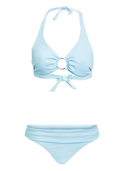 MELISSA ODABASH Neckholder-Bikini BRUSSELS , Farbe: HELLBLAU (Bild 1)