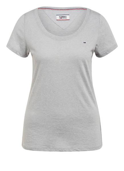 TOMMY JEANS T-Shirt, Farbe: HELLGRAU MELIERT (Bild 1)
