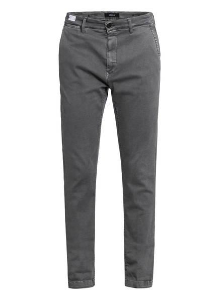 REPLAY Chino ZEUMAR HYPERFLEX Slim Fit, Farbe: GRAU (Bild 1)