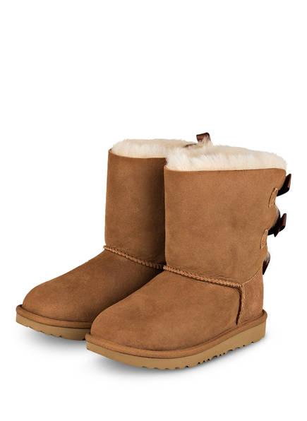 UGG Boots BAILEY BOW II, Farbe: COGNAC (Bild 1)