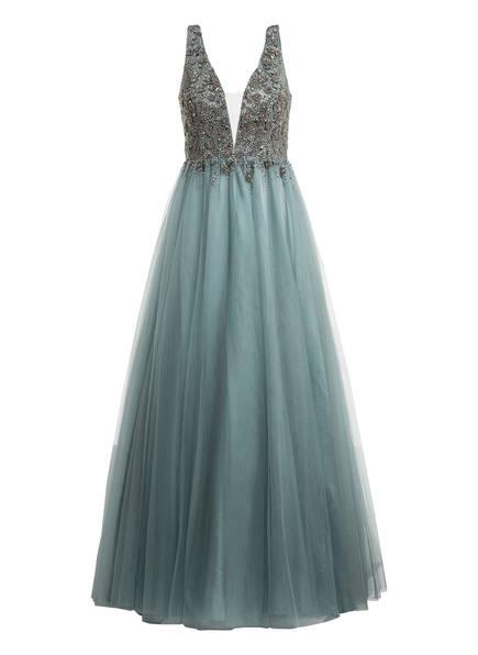 unique Abendkleid mit Stola, Farbe: PETROL (Bild 1)
