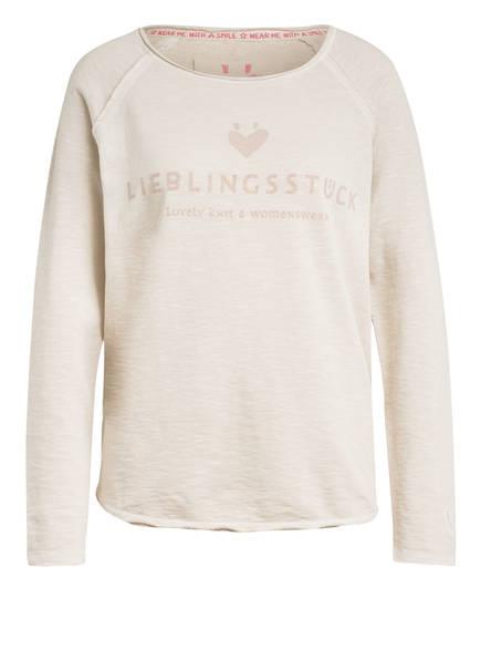 LIEBLINGSSTÜCK Sweatshirt CATHRINA, Farbe: CREME MELIERT (Bild 1)