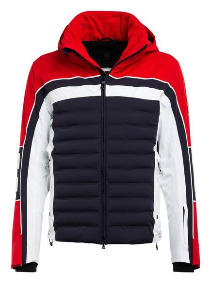 BOGNER Skijacke LECH-T, Farbe: ROT/ DUNKELBLAU/ WEISS (Bild 1)