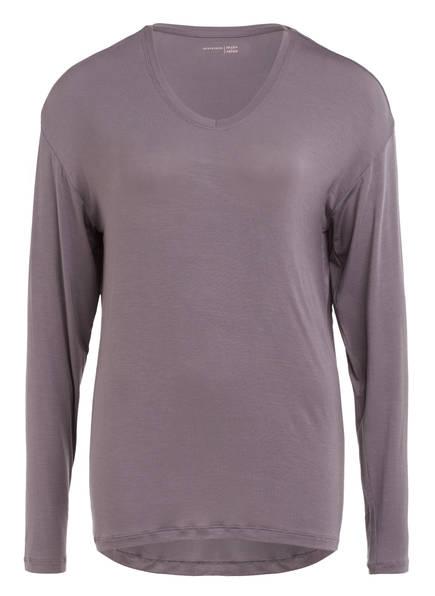 SCHIESSER Schlafshirt MIX & RELAX , Farbe: TAUPE (Bild 1)