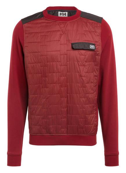 HELLY HANSEN Sweatshirt MOVATN WOOL INS, Farbe: DUNKELROT (Bild 1)