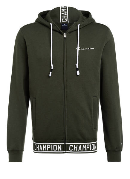 Champion Sweatjacke , Farbe: OLIVE (Bild 1)