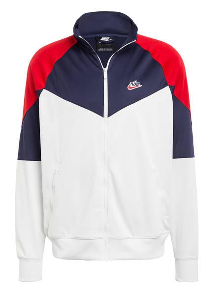 Nike Sweatjacke WINDRUNNER, Farbe: WEISS/ BLAU/ ROT (Bild 1)