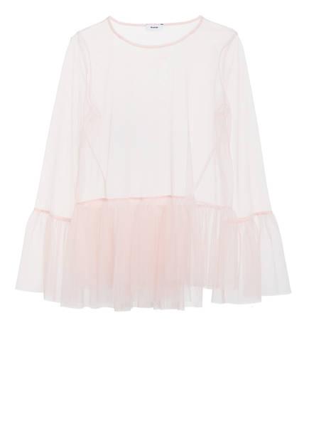RIANI Blusenshirt , Farbe: ROSA TRANSPARENT (Bild 1)