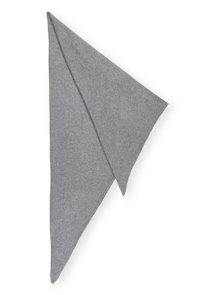 DARLING HARBOUR Dreieckstuch, Farbe: HELLGRAU MELIERT (Bild 1)