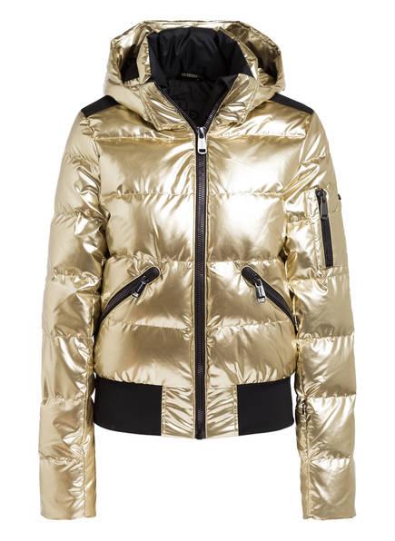 GOLDBERGH Daunen-Skijacke AURA, Farbe: GOLD (Bild 1)
