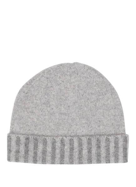CHAS Cashmere-Mütze, Farbe: HELLGRAU MELIERT (Bild 1)