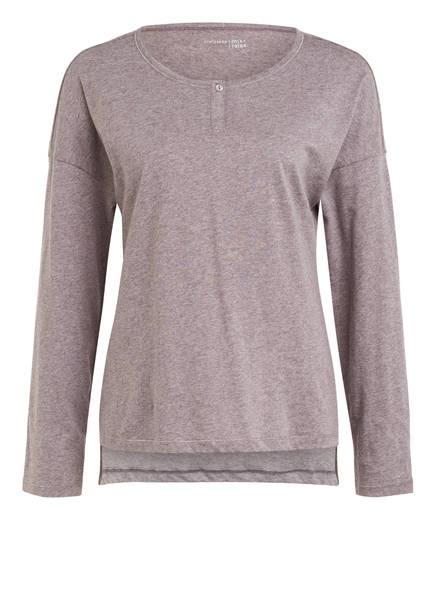 SCHIESSER Lounge-Shirt MIX & RELAX, Farbe: TAUPE MELIERT (Bild 1)