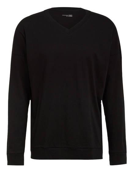 SCHIESSER Lounge-Shirt, Farbe: SCHWARZ (Bild 1)