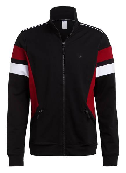 JOY sportswear Sweatjacke PHILLIP , Farbe: SCHWARZ/ DUNKELROT/ WEISS (Bild 1)