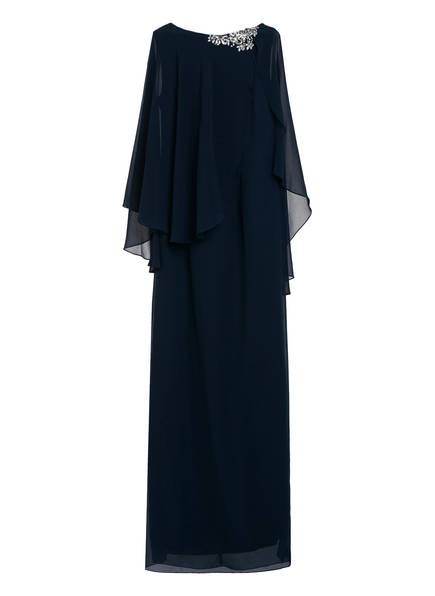 VISOUS Abendkleid mit Schmucksteinbesatz, Farbe: DUNKELBLAU (Bild 1)