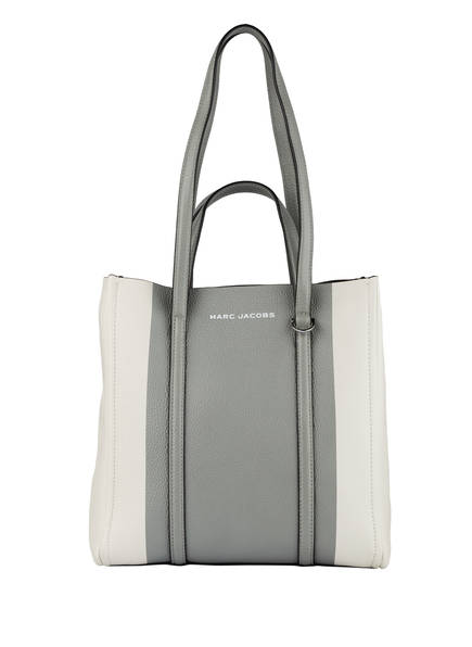 MARC JACOBS Shopper THE TAG TOTE, Farbe: CREME/ HELLGRAU (Bild 1)
