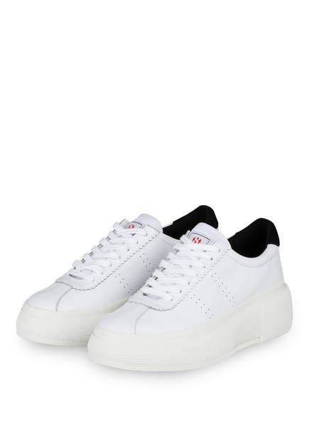 SUPERGA Plateau-Sneaker 2822 COMFLEAW, Farbe: WEISS (Bild 1)