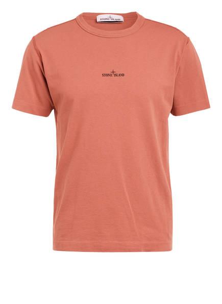 STONE ISLAND T-Shirt , Farbe: HELLROT (Bild 1)
